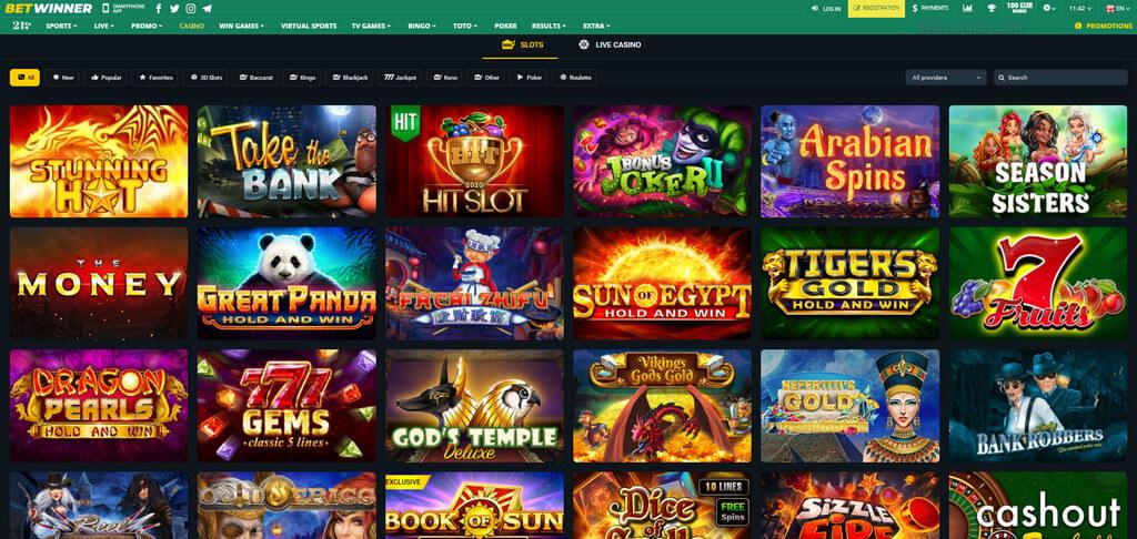 Casino Slots Betwinner